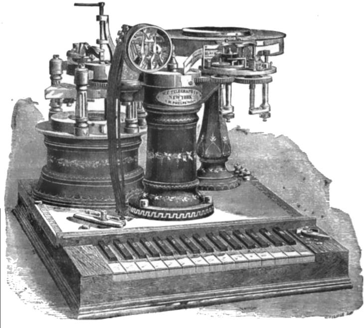 Phelps'_Electro-motor_Printing_Telegraph